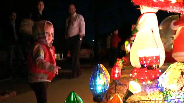 Thief gets the decorations but not Christmas spirit
