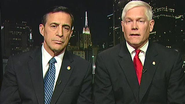 Reps. Issa, Sessions on probe into ObamaCare navigators