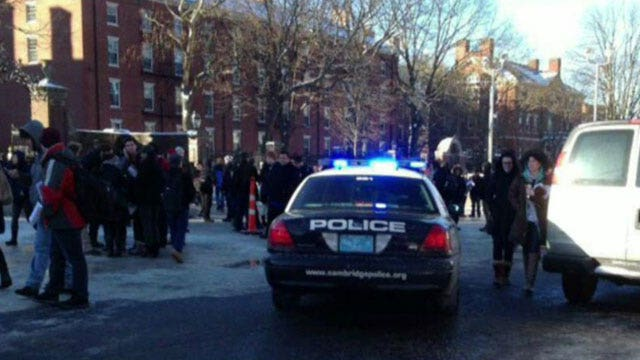Report: Explosives found at Harvard University