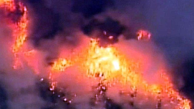 New audio recording of Hotshots battling deadly blaze
