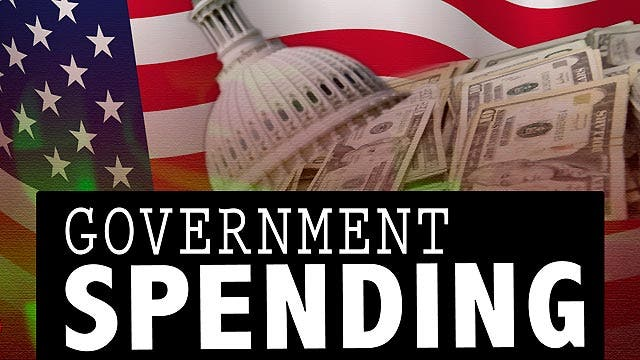 How much does the government spend every day?