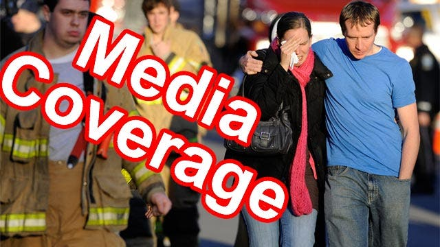 Discussion of media coverage of Sandy Hook shooting