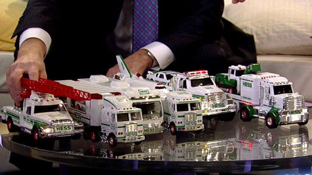 Hess' 2013 holiday truck released