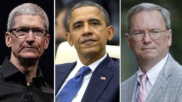 Obama meets with top tech CEOs over healthcare.gov