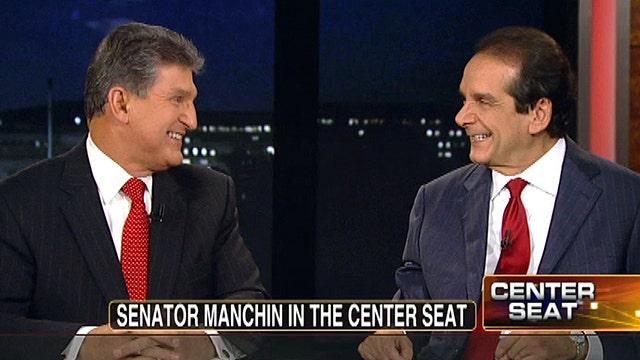 Krauthammer Challenges Sen. Manchin on Party ID