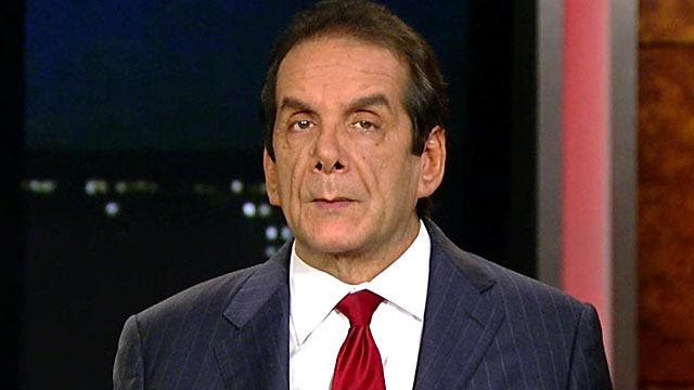 Krauthammer: Obama is 'hostage' to ObamaCare
