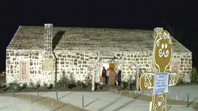 World's largest gingerbread house built in Texas