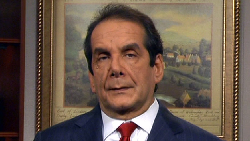 Charles Krauthammer reacts to new study that says income inequality is on the rise