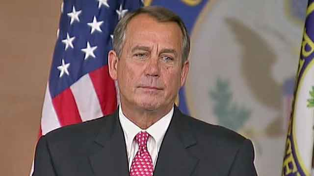 Boehner meets GOP leaders to discuss 'fiscal cliff' offer