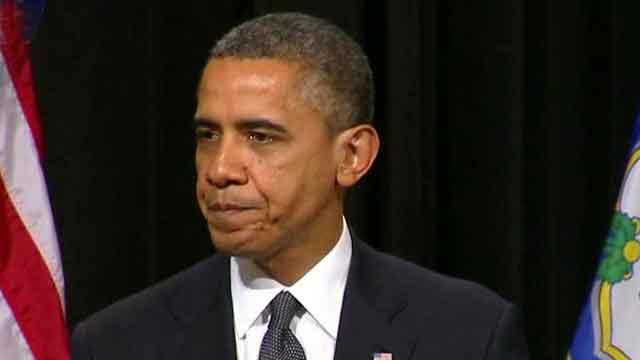 President Obama speaks at school shooting vigil