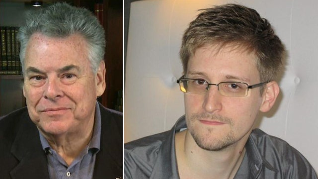 Rep. King: 'Edward Snowden is a traitor'