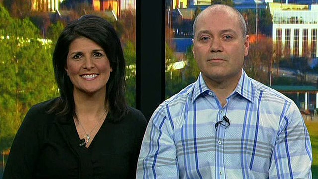 Happy holiday homecoming for military wife, Gov. Nikki Haley
