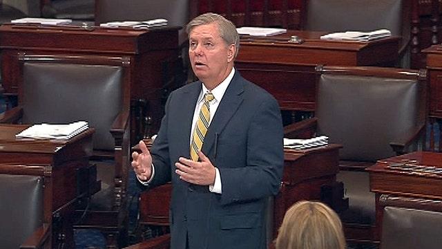 Sen. Graham jabs budget deal