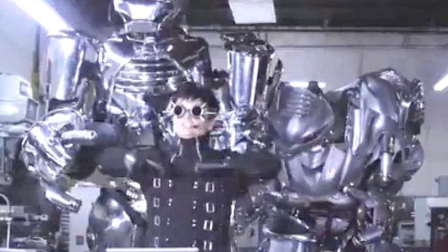 Megabyte: Music video J.G. and the Robots features dancing machines; a real Iron Man Mark III suit; navigating Facebook's new video ads