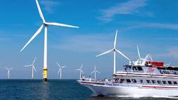 An ambitious and controversial push to erect America's first offshore wind farm has been dealt what some call a potentially fatal blow after two utility companies pulled out of commitments to buy energy from the lagging operation.