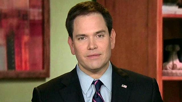 Rubio: Raising taxes doesn't solve anything