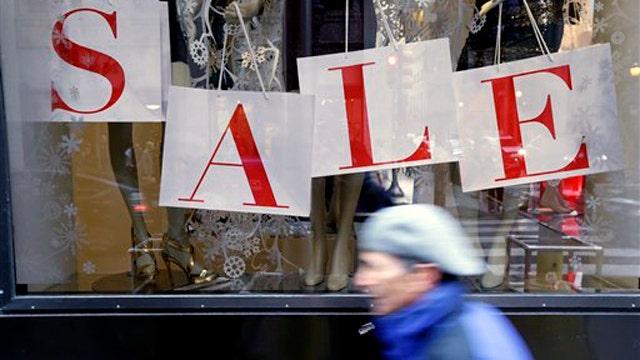 Holiday sales falling short of predictions