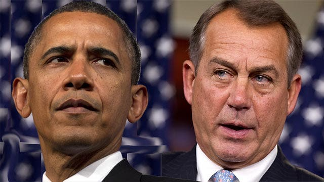 'Fiscal cliff' talks at a boiling point?