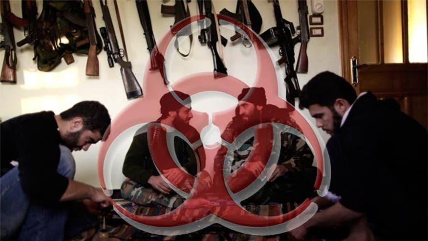 Concerns Assad regime will unleash arsenal
