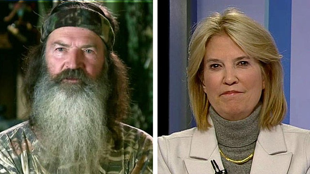 Greta: Petty Santa fights? Duck Dynasty? We need perspective