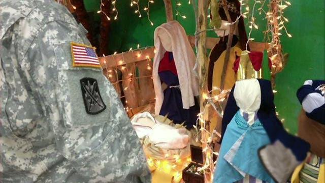 Nativity scenes removed