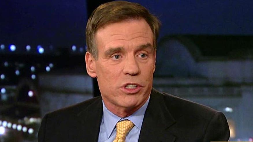 "Sen. Mark Warner (D-VA) told viewers that a Senate proposal to impose new sanctions in Iran, should ongoing talks over their nuclear program with the Obama administration fall apart, is ""the right action to take"" and ""will actually strengthen our hand."""