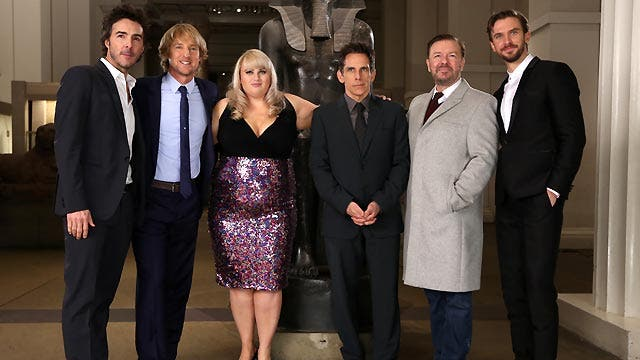 Having fun with the 'Night at the Museum' cast  Latest ...