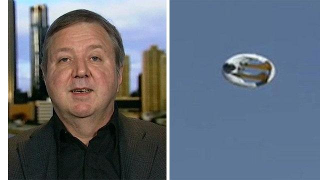 GeoBat flying saucer to take flight in 2015