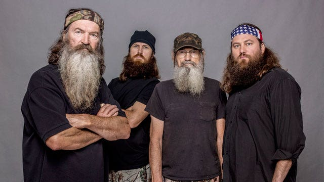 'Duck Dynasty' family stands together