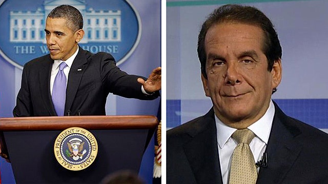 Krauthammer: Nation finally sees ObamaCare's true colors