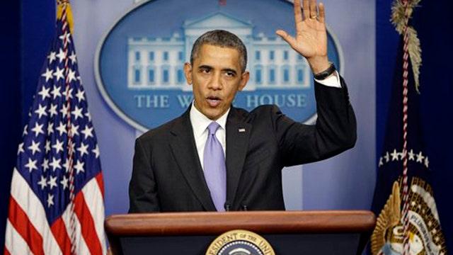 President Obama on the run?