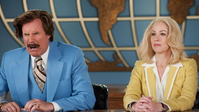 Can the Channel 4 news team still deliver in 'Anchorman 2'?