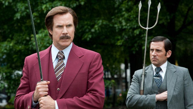 Face2Face with the cast of 'Anchorman 2'