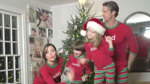 North Carolina family raps in holiday video