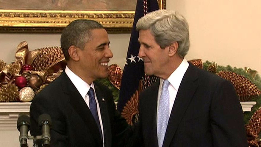 Obama: My choice for secretary of state is John Kerry