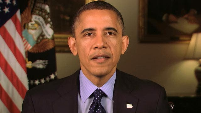 President delivers gun control message