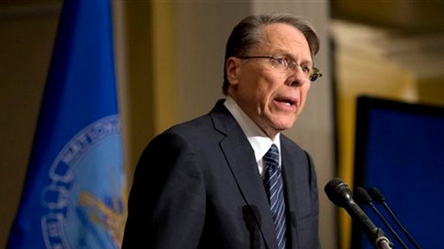 NRA addresses gun control following Newtown shooting