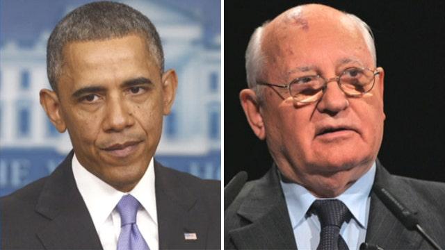 President Obama similar to Mikhail Gorbachev?