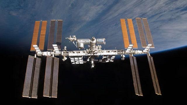 ISS spacewalk a success