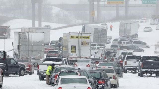 Major storm threatens holiday travel