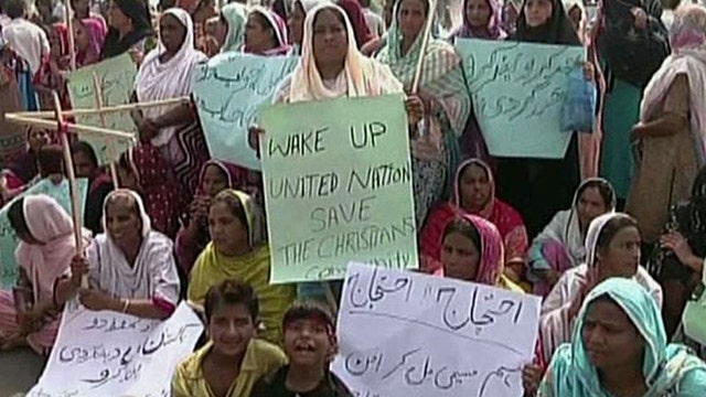 Persecution of Christians a growing problem in Pakistan