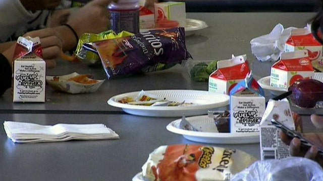 Should students have to earn school lunches?