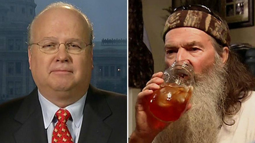 Karl Rove reacts to Phil Robertson's comments