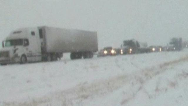Winter storm sweeping across US