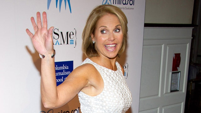 Why didn't Katie Couric's talk show work?