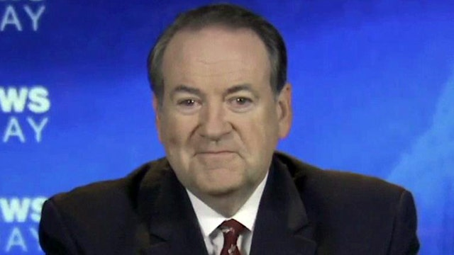 Huckabee talks ObamaCare, 'Duck Dynasty' controversy, 2016
