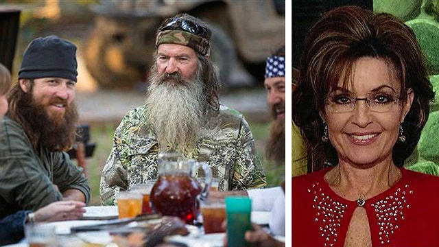 Palin on 'Duck Dynasty' and American way