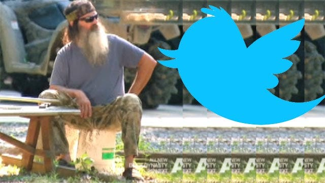 Users blocked from tweeting Phil Robertson support site link