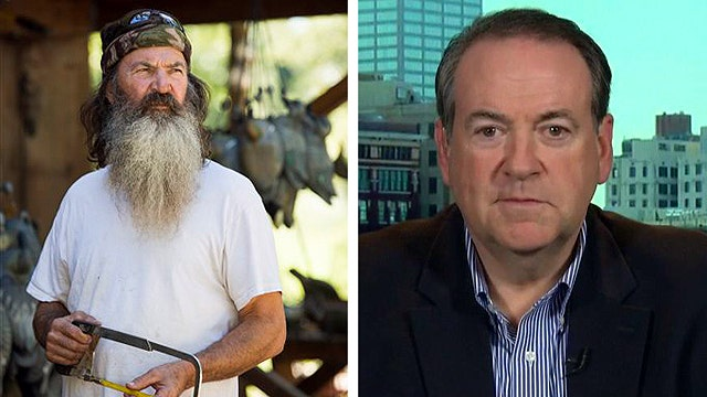 Huckabee launches petition to support 'Duck Dynasty' star