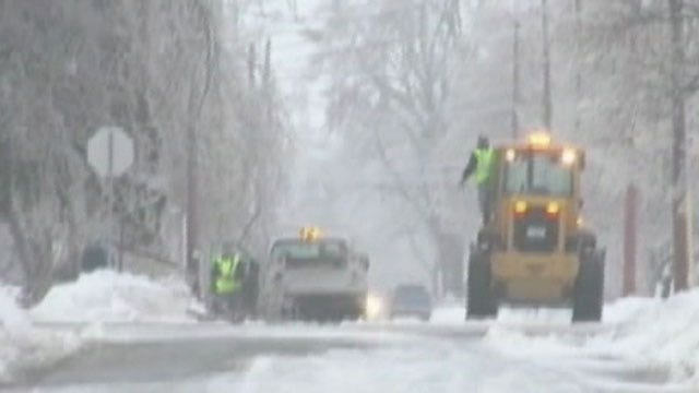 Wicked weather hits holiday travel